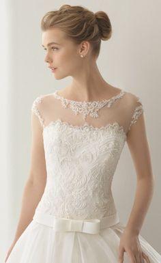 Rosa Clara Spring 2016 Wedding Dress