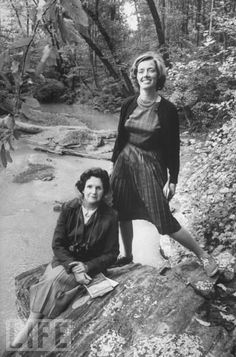 Jane Howard and Rachel Carson. Two hot ladies. Rachel Carson, Life Magazine, Writer, History, Couple Photos, Lady, Classic, People, Pictures
