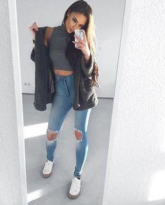 "Check out our #NovaBabe @ni_sa_  SLAYIN' in our ""Tough Luck Jeans""  We wanna see you ♕KILLIN' IT♕ Tag us @FashionNova #FashionNova For A Chance To Be Featured! ✨www.FashionNova.com✨"