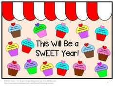 End of the Year Activities: Bulletin Board Ideas - Here is a unique printable activity that may be used for the end of the school year or beginning of the year. For a back to school activity, your students will reflect on their former years of school. They will use the directions and cupcake graphic organizers to develop advice to their fellow classmates to promote a SWEET new school year!