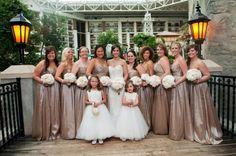 Champagne Bridal Dresses