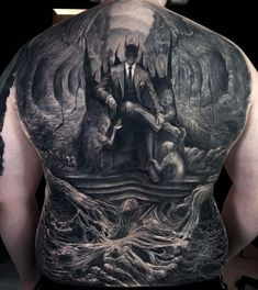 Demon Tattoo, I Tattoo, Back Tattoos, Body Art Tattoos, Statue, Awesome, Instagram, Brazil, Army