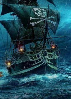Yacht Charters: Top Places to Have a Boating Holiday in the U. Pirate Art, Pirate Life, Pirate Ships, Pirate Crafts, Pirate Woman, Bateau Pirate, Old Sailing Ships, Ship Paintings, Ghost Ship