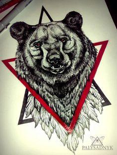 Медведи | 165 фотографий Cover Up Tattoos, Love Tattoos, Beautiful Tattoos, Body Art Tattoos, Small Tattoos, Sketch Tattoo Design, Tattoo Sketches, Tattoo Drawings, Tattoo Designs