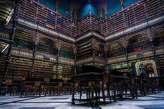 La Bibliothèque Royale portugaise, Rio de Janeiro, Brésil