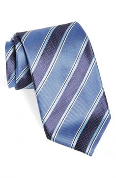 Canali Stripe Woven Silk Necktie | Neckwear and Accessory