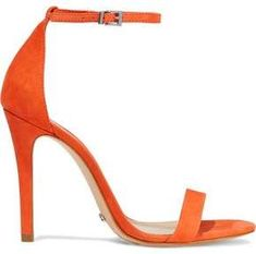 90cdd905182b Schutz Cadey Lee Suede Sandals schutz sandals orange summercolour summerstyle .  Orange HeelsLeeSuede Sandals