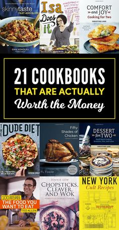 21 Cookbooks That Are Actually Worth Buying