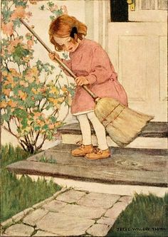 The Step by Jessie Wilcox Smith