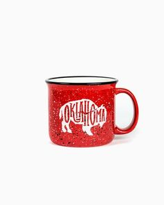 Red Bison Campfire Mug available at J. Lilly's Boutique or jlillysboutique.com