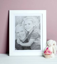 Charcoal paintings and pencil portraits from photos Portraits From Photos, Best Portraits, Pencil Sketch Portrait, Hand Sketch, Draw Your, Gifts For Dad, Cool Photos, Charcoal, How To Draw Hands