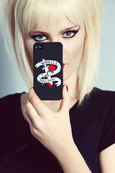 Wheels and Dollbaby iPhone 5 Case with 5 coloured logo from Just a Touch of Everything Kate Moss, Katy Perry, Gorgeous Hair, Alternative Fashion, Rolling Stones, Makeup Inspiration, Hair Makeup, Wheels, Iphone Cases