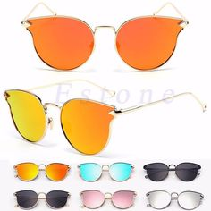 Women's Gold Retro Cat Eye Sunglasses Classic Oversized Vintage Fashion Shades #Unbranded #CatEye