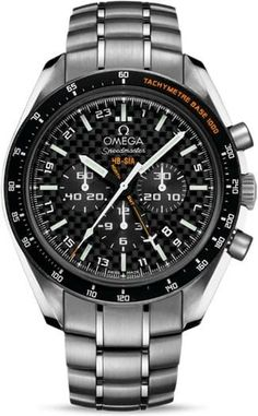 Buy this Omega Speedmaster HB-SIA Co-Axial GMT Chronograph Numbered Edition here at Exquisite Timepieces, we are Authorized Dealers Dream Watches, Cool Watches, Men's Watches, Amazing Watches, Solar, Big Ben, Omega Speedmaster Moonwatch, Titanium Watches, Luxury Watches For Men