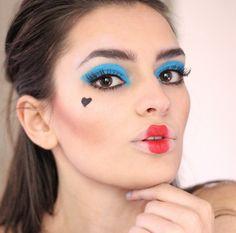peexo halloween queen of hearts makeup tutorial