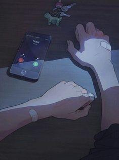 Anime Triste, Aesthetic Art, Aesthetic Pictures, Aesthetic Anime, Crying Aesthetic, Anime Crying, Sad Anime, Anime Guys, Sad Wallpaper