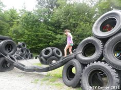 , Playground for Car Tires - Yahoo Image Search Results. , Playground for Car Tires - Yahoo Image Search Results Tire Playground, Preschool Playground, Outdoor Playground, Playground Ideas, Tire Craft, Tyres Recycle, Old Tires, Play Yard, Outdoor Classroom
