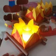 Resultado de imagem para centro de mesa festa junina