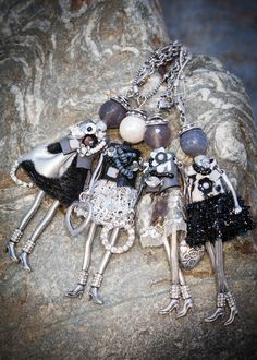 French Doll Necklaces AW 2015 www.villancher.com