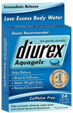 Diurex Aquagels Soft Gel Caps, 24 ct $6.00
