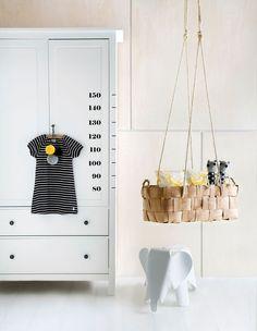 Houd bij hoe snel je kindje groeit met een leuke én stijlvolle groeimeter - Roomed