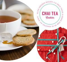 Cookie + Gift Tag: Chai Tea Cookies & Stickers for Gifting — Printables from The Kitchn