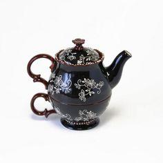 temp-tations® Floral Lace Tea for One Set :: temp-tations® by Tara