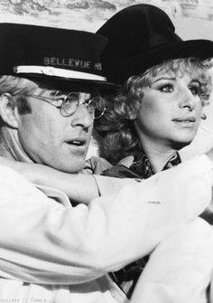 Robert Redford and Barbra Streisand in The Way We Were (1972) - loved this movie