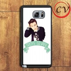 Troy Sivan Poster Samsung Galaxy Note 5 Case
