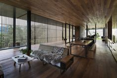 Sawmill House - Archier - Australia - Living Area - Humble Homes