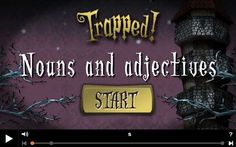 Trapped - Nouns and Adjectives - 10-11 year olds - Topmarks