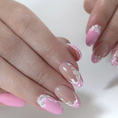 After reading so many nail art recommendations in the spring, have you found your favorite nail style? Come share my favorite romantic spring short nails today. Blush Nails, Soft Nails, Pink Acrylic Nails, Pink Nails, Stylish Nails, Trendy Nails, Paris Nails, Nail Tip Designs, Bridal Nail Art