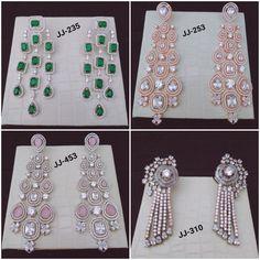 #earrings #danglers #kundan #meenakari #zircon #highquality #richlook  #Beautiful #lovely #elegant #festive #wedding #trendy #designer #exclusive #statement #latest #design #ethnic #traditional #modern #indian #divaazfashionjewellery Bracelet Watch, Festive, Ethnic, Indian, Traditional, Elegant, Bracelets, Modern, Earrings