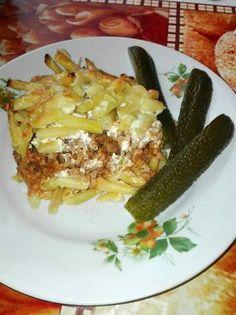 Rakott zöldbab Lasagna, Main Dishes, Ethnic Recipes, Food, Main Course Dishes, Entrees, Essen, Main Courses, Meals