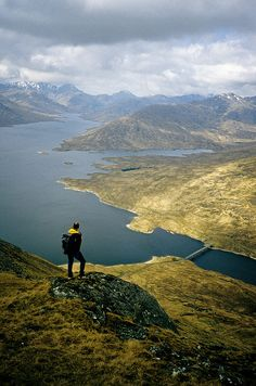 Loch Quoich, NW Highlands, Scotland by David May, via Flickr #WOWwalks