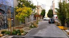 San Francisco's Living Alley Project.