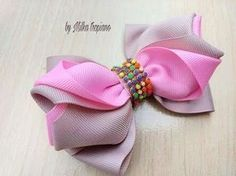 Fast And Easy Projects - How to Make Hair Clips? Making Hair Bows, Diy Hair Bows, Diy Bow, Kanzashi Tutorial, Hair Bow Tutorial, Ribbon Art, Ribbon Bows, Fabric Bows, Fabric Flowers