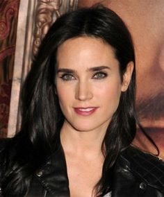 Jennifer Connelly Jet Black Hair Color
