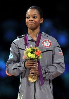 Gabby Douglas #gymnastics #strength #power