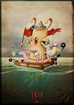 the TRIP by OMASH ONE, via Behance