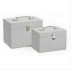 Customised Design Silver Storage Box