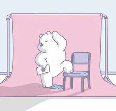 We bare bear We Bare Bears Wallpapers, Panda Wallpapers, Cute Cartoon Wallpapers, Ice Bear We Bare Bears, We Bear, Bear Wallpaper, Bear Cartoon, Bear Art, Cute Bears