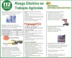 Riesgos eléctricos en trabajos agrícolas