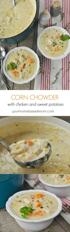 Corn Chowder with Ch