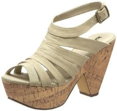 Michael Antonio Women's Galactic Wedge Sandal $40.00.....these are SO comfortable! Have the Gentry in black & tan leather....need these too!