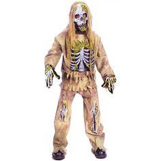 8. Skeleton Zombie Costume