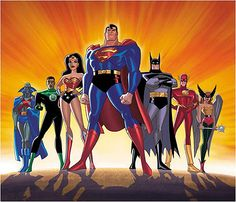 AFTER Superman and Batman face off in the Man Of Steel sequel they will return with a clutch of other superheroes for the Justice League movie. Marvel Names, Marvel Vs, Justice League Unlimited, Cartoon Superhero Girl, Dc Animated Series, Dc Comics Collection, Groups Poster, Univers Dc, Arte Dc Comics