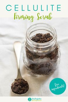 Get Rid of Cellulite | DIY firming scrub with only 5 ingredients! #skinperfection #diy #skincare #cellulite