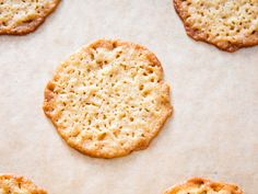Lacy, Crisp, and Chewy Ricotta Cookies Are the Mistake of a Lifetime | Bake until the cookies are lacy, thin, and golden around the edges, then let them cool to room temperature. The cookies are squishy, almost greasy, while warm—a texture that resolves itself into something pleasantly soft and rich as they cool. Plus, giving the edges time to crisp up is more than worth the wait.