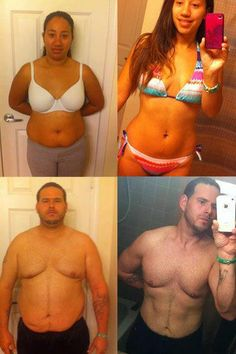 Way to go Richard & Sabrina P.!! Together lost a combined weight of over 150 lbs